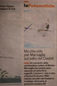 Ski World Cup, Gazzetta dello Sport – 21 December 2013