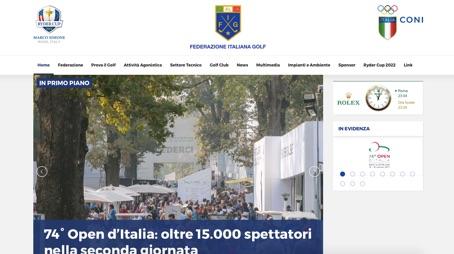 Ottobre 2017:GOLF 74' OPEN D' ITALIA