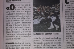Gazzetta Luglio 2018 – Football Americano Italian SuperBowl